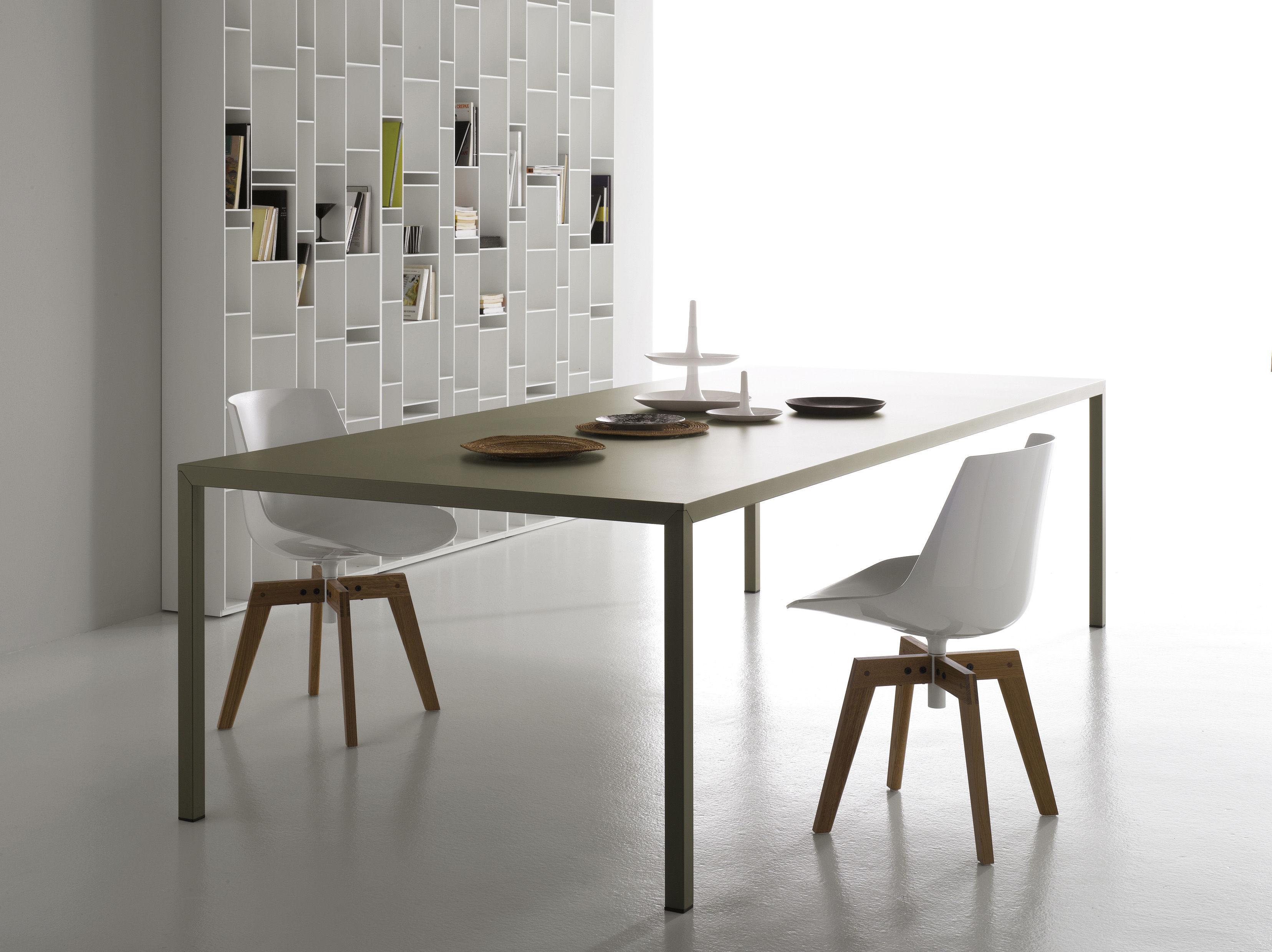 Table steel 100 x 240 cm 100 x 240 cm noir manganèse mdf