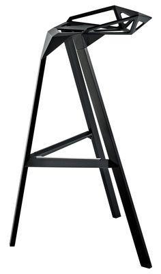 Tabouret de bar Stool One / H 67 cm - Métal - Magis noir en métal