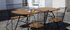 Tavolo pieghevole Beam - / Pieghevole - 180 x 95 cm / Bambù & Acciaio di Houe