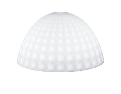 Abat-jour Stella Medium / Ø 43,5 cm - Koziol blanc opaque en matière plastique