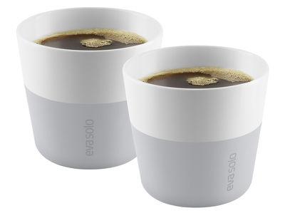 Bicchiere Lungo /Set da 2 - 230 ml - Eva Solo - Grigio marmo - Ceramica