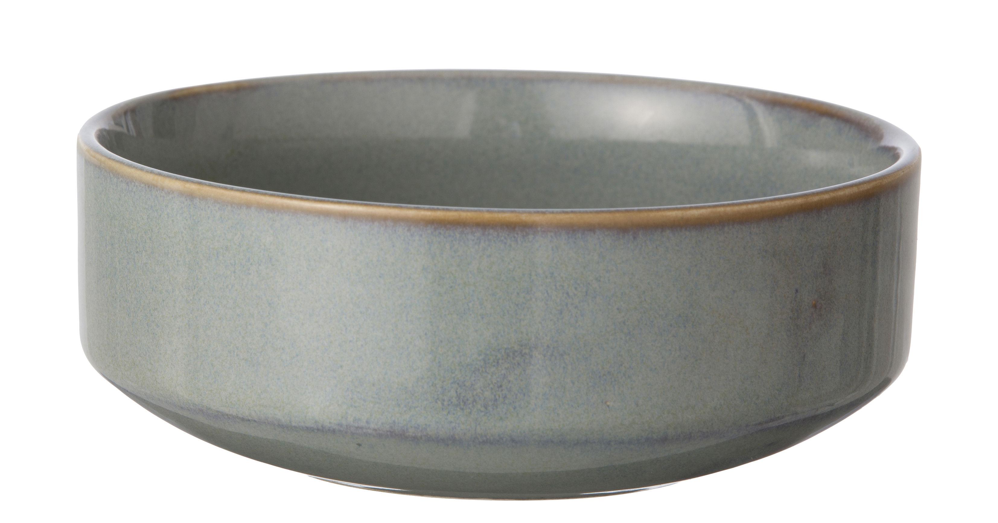 Tableware - Bowls - Neu Bowl by Ferm Living - Grey - Glazed ceramic