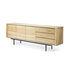 Buffet Shadow / Chêne massif  - L 224 cm / 3 portes & 3 tiroirs - Ethnicraft