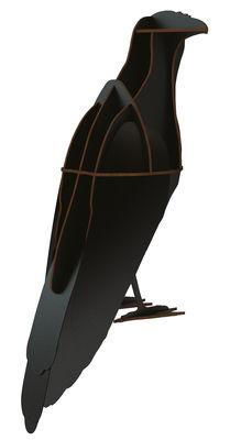 Décoration Alfred / A poser - L 20 x H 45 cm - Ibride noir en bois
