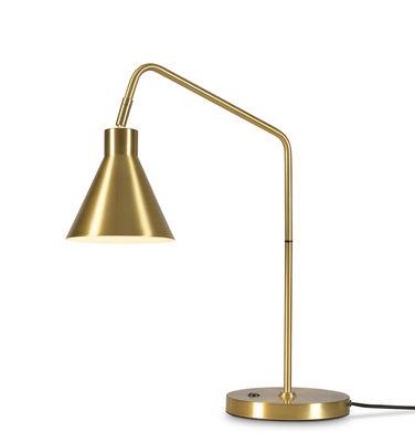Image of Lampada da tavolo Lyon - / Orientabile - Metallo di It's about Romi - Oro,Metallo - Metallo