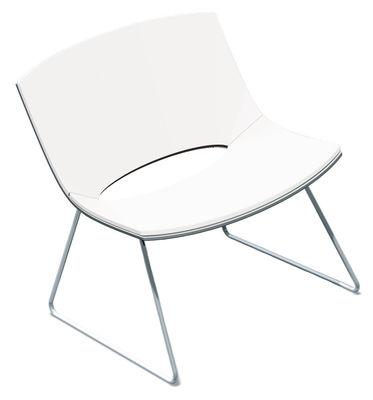 Oh! Lounge Sessel Kufengestell - Enea - Weiß