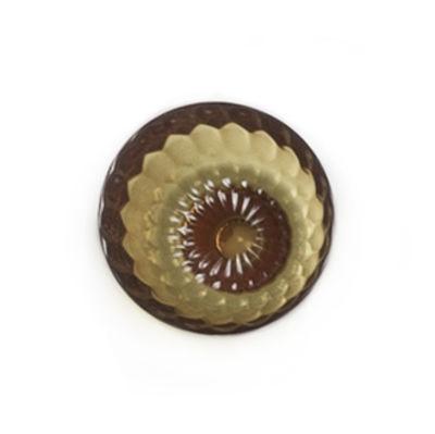 Patère Jellies Family S Ø 9,5 x H 6 cm Kartell ambre en matière plastique