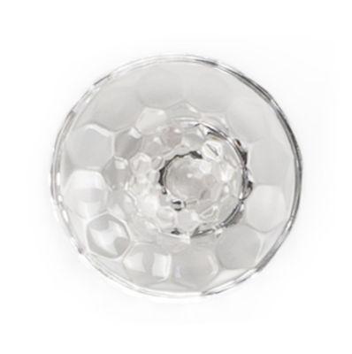 Patère Jellies Family M Ø 13 x H 6 cm Kartell cristal en matière plastique