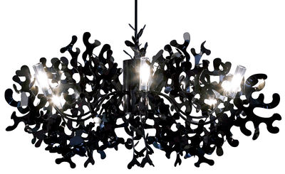 Lighting - Pendant Lighting - Coral Pendant - Ø 105 cm by Lumen Center Italia - Black - Lacquered metal