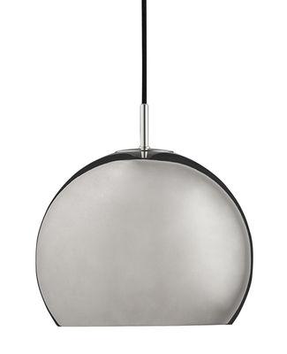 Ball Medium Pendelleuchte / Ø 25 cm - Neuauflage des Originals von 1968 - Frandsen - Chrom, glossy