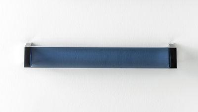 Accessori - Accessori bagno - Porta asciugamani murale Rail - / L 30 cm di Kartell - Blu crepuscolo - PMMA