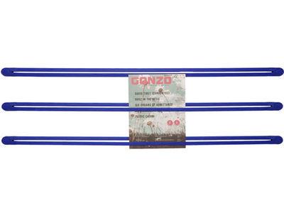 Porte-objets Strap mural - droog bleu en matière plastique