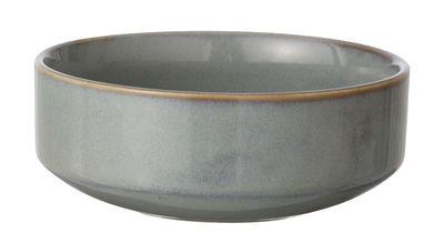 Tischkultur - Salatschüsseln und Schalen - Neu Schale - Ferm Living - Grau - emaillierte Keramik
