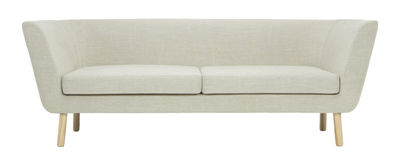 Nest Sofa / L 204 cm - Design House Stockholm - Eiche,Sand-Beige