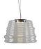Sospensione Bibendum LED - / Ø 35 cm - Vetro di Karman