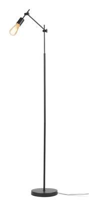 Leuchten - Stehleuchten - Sheffield Stehleuchte / verstellbar - H 170 cm - It's about Romi - Schwarzmatt - Eisen