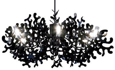 Luminaire - Suspensions - Suspension Coral Ø 105 cm - Lumen Center Italia - Noir - Métal laqué