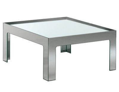 Table basse Mirror Mirror 110 x 110 cm - Glas Italia métal en verre