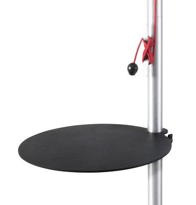 Outdoor - Déco et accessoires - Tablette Sol-mate / pour parasol- Métal - Fatboy - Noir - Aluminium