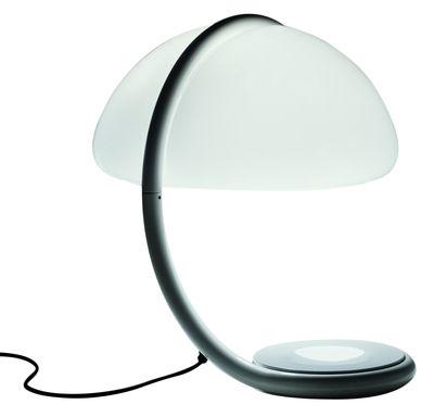 Leuchten - Tischleuchten - Serpente Tischleuchte - Martinelli Luce - Weiß - lackiertes Metall, Methacrylate