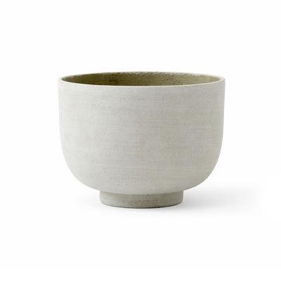 Image of Vaso per fiori Collect SC71 - / Ø 18 x H 18 cm - Polystone di &tradition - Verde - Materiale plastico/Pietra