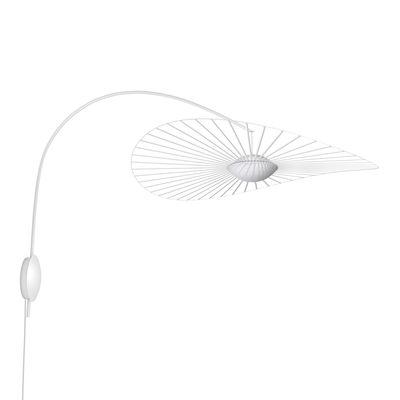 Illuminazione - Lampade da parete - Applique Vertigo Nova LED - / Ø 110 cm - Braccio rotante di Petite Friture - Bianco - Acciaio, Fibra di vetro, Poliuretano, Vetro a tre strati