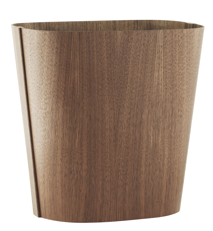 Decoration - Centrepieces & Centrepiece Bowls - Tales of wood Basket by Normann Copenhagen - Walnut - Walnut