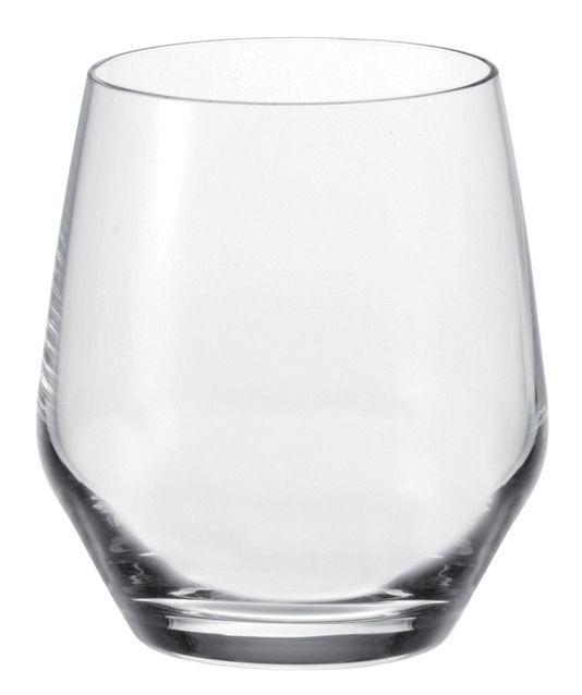 Tavola - Bicchieri  - Bicchiere da whisky Twenty 4 di Leonardo - Trasparente - Bicchiere - Vetro Teqton