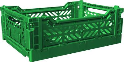 Casier de rangement Midi Box / Pliable - L 40 cm - Surplus Systems - Pop Corn vert bouteille en matière plastique