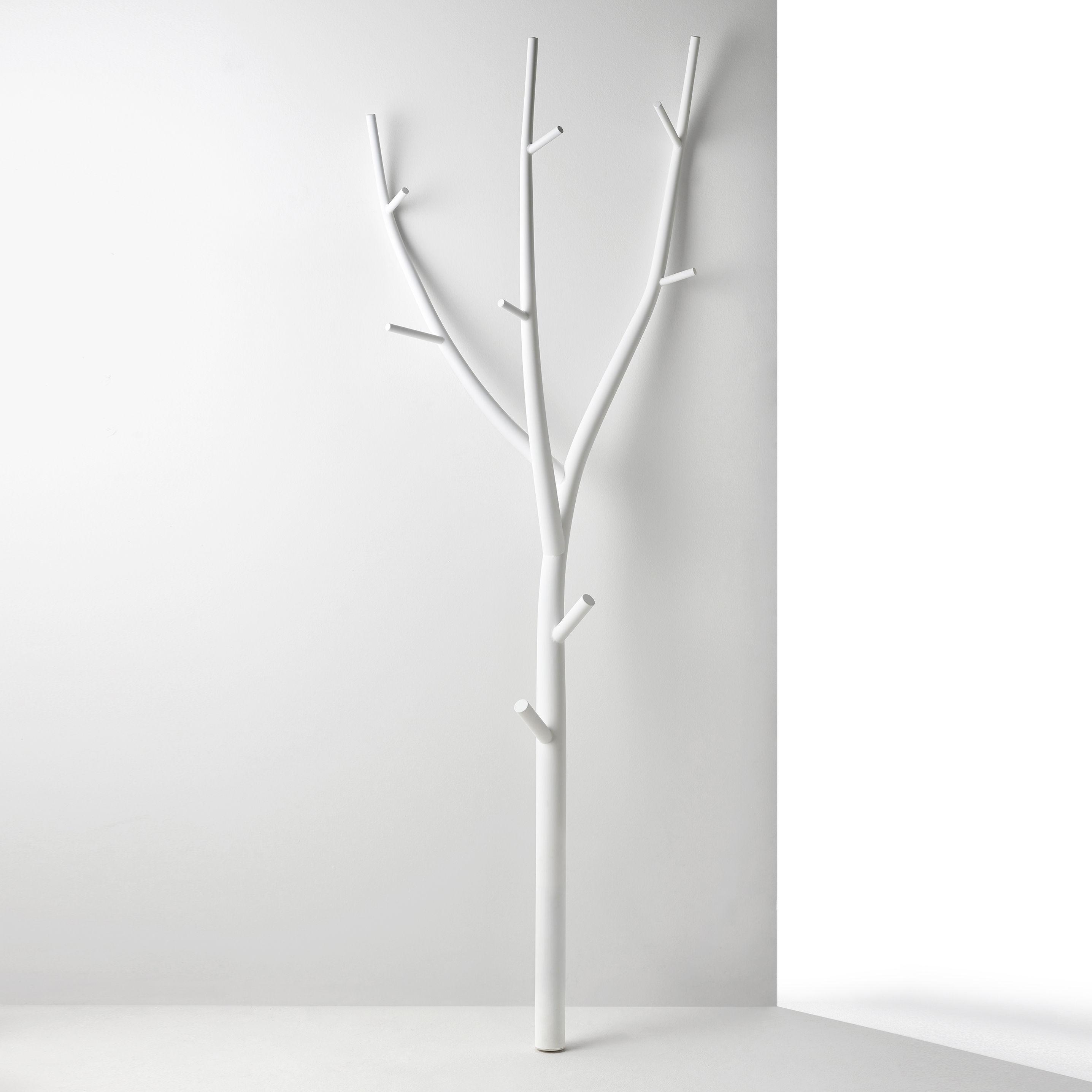Furniture - Coat Racks & Pegs - Ramo Coat stand - / Steel - L 70 x H 205 cm by Opinion Ciatti - White - Steel
