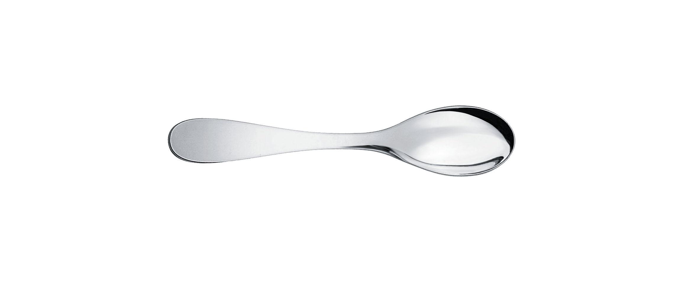 Tavola - Posate - Cucchiaio da caffé Eat.it di Alessi - Caffè / L 12,7 cm - Acciaio inox 18/10