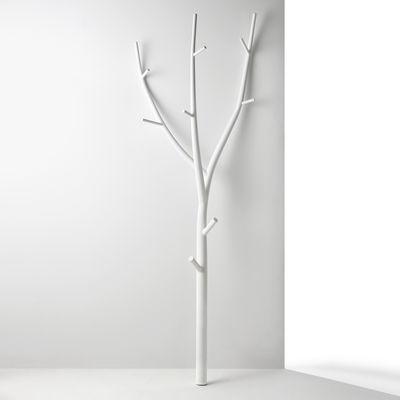Möbel - Garderoben und Kleiderhaken - Ramo Garderobe / Stahl - L 70 x H 205 cm - Opinion Ciatti - Weiß - Stahl