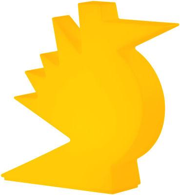 Image of Lampada da tavolo Here - / L 50 x H 50 cm di Slide - Arancione - Materiale plastico