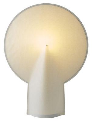 Luminaire - Lampes de table - Lampe de table Pion Large / H 66 cm - Papier - wrong.london - H 66 cm / Blanc - Acier laqué, Papier laminé