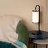 Lampe de table Tokyo / Coton - H 43 cm - Maison Sarah Lavoine