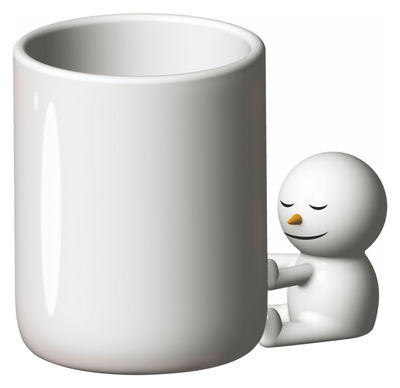Tableware - Coffee Mugs & Tea Cups - The hug Mug by A di Alessi - White - China