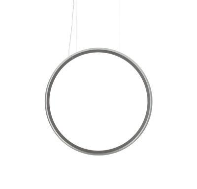 Discovery Vertical Pendelleuchte / Ø 70 cm - Artemide - Aluminium,Transparent