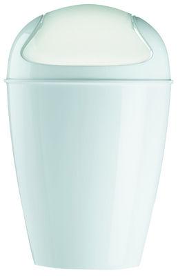 Poubelle Del S / H 37 cm - 5 Litres - Koziol blanc en matière plastique