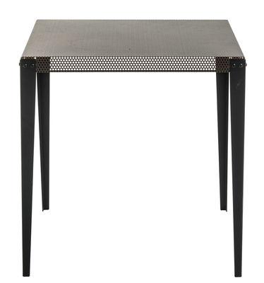 Mobilier - Tables - Table Nizza / 100 x 100 cm - Diesel with Moroso - Cuivre / Pieds noirs - Acier verni