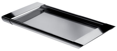 Tischkultur - Tabletts - Tiffany Tablett - Alessi - Stahl - rostfreier Stahl