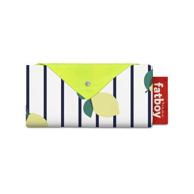 Jardin - Parasols - Tente de plage Miasun / Pliable & nomade - 150 x 220 cm - Fatboy - Sicily / Citrons jaunes - Aluminium, Coton