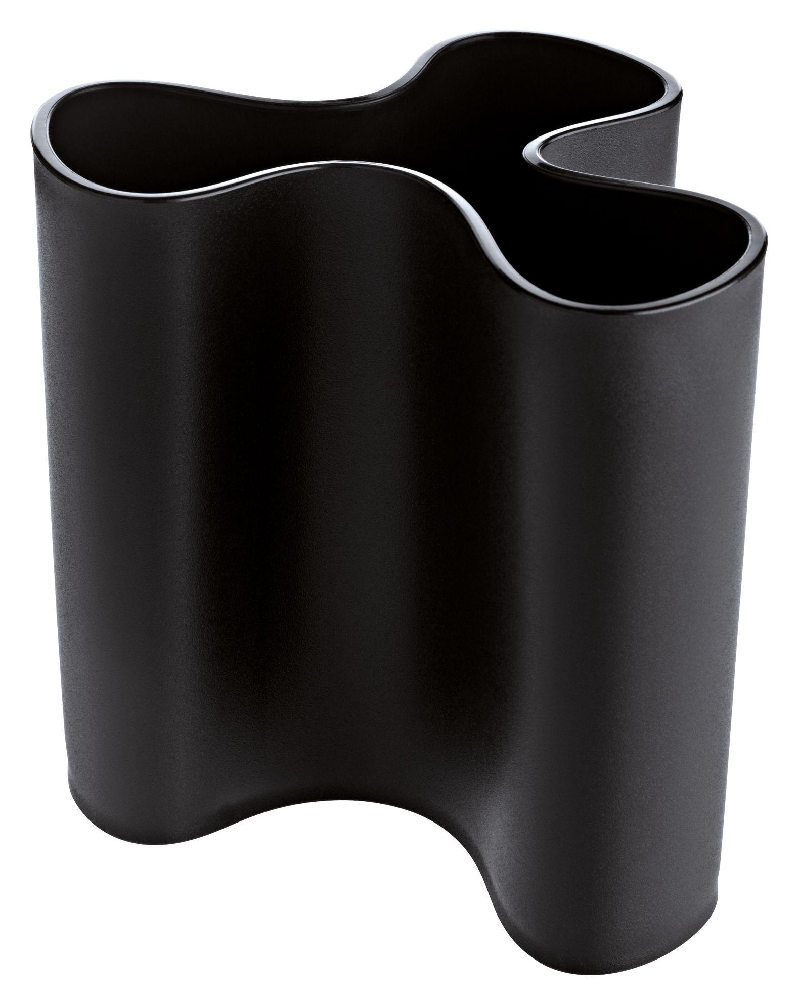 Interni - Vasi - Vaso Clara di Koziol - Nero - Materiale plastico