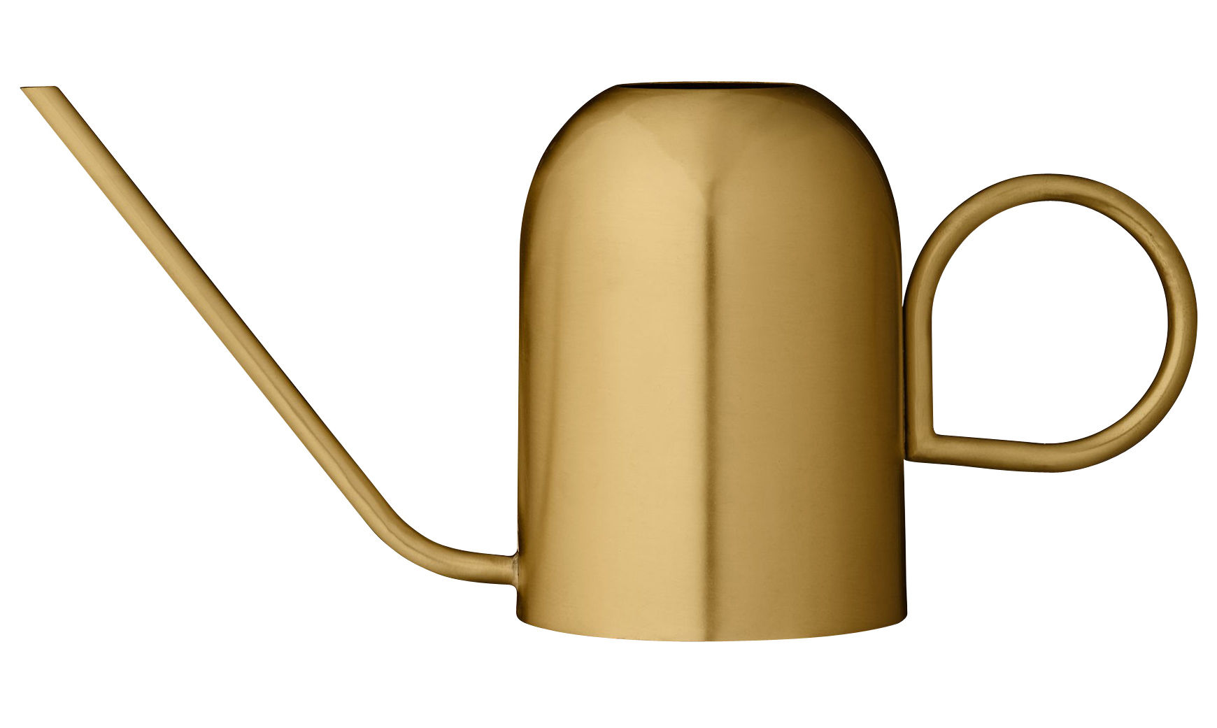 Outdoor - Pots & Plants - Vivero Watering can - Brass by AYTM - Brass - Lacquered brass