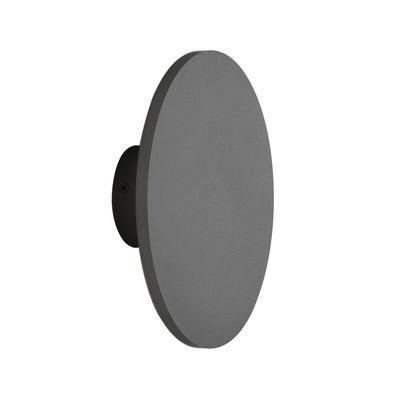 Applique Zenith Medium / LED - Ø 20 cm - Métal - ENOstudio anthracite en métal