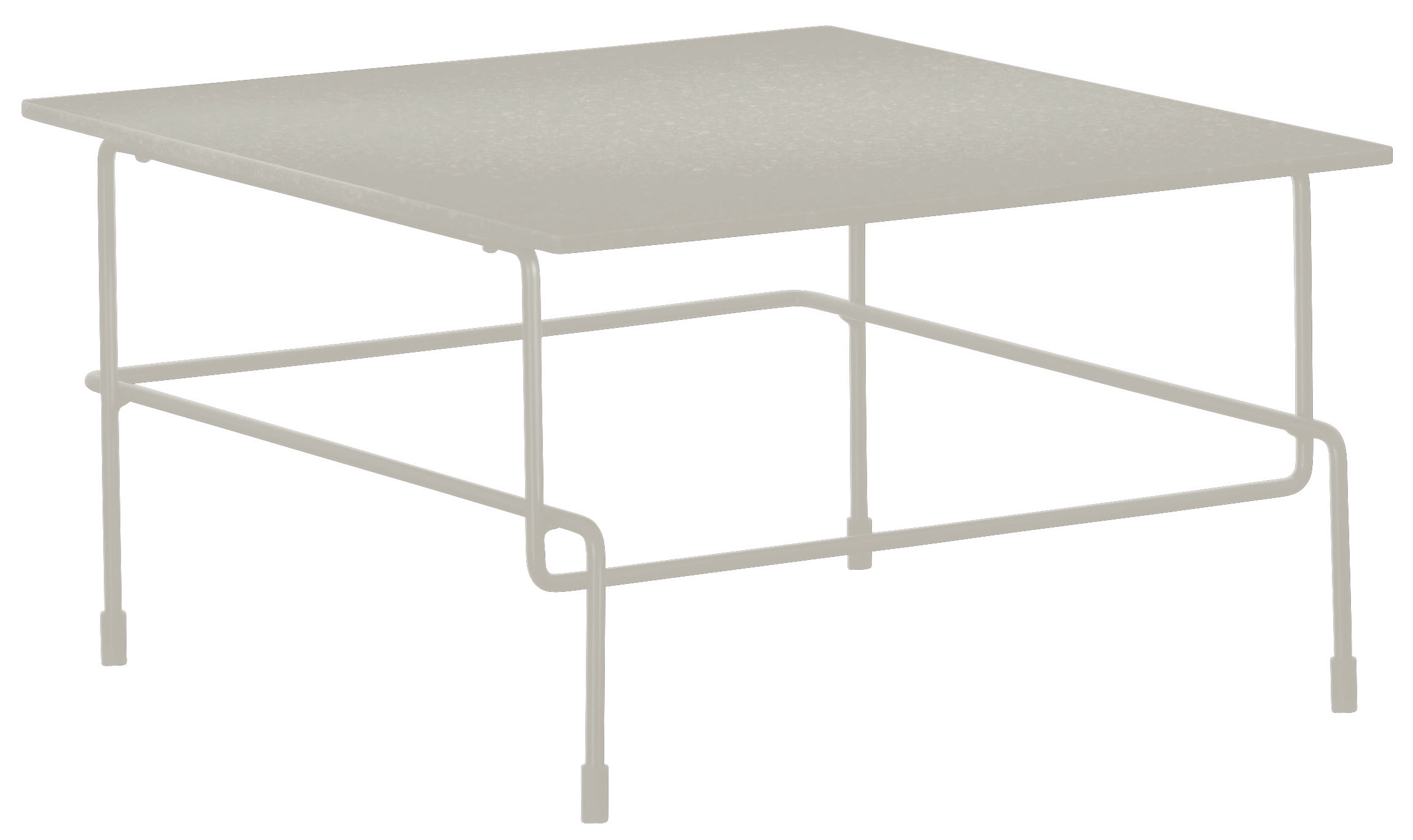Furniture - Coffee Tables - Traffic Coffee table by Magis - White - Acrylic stone, Varnished steel