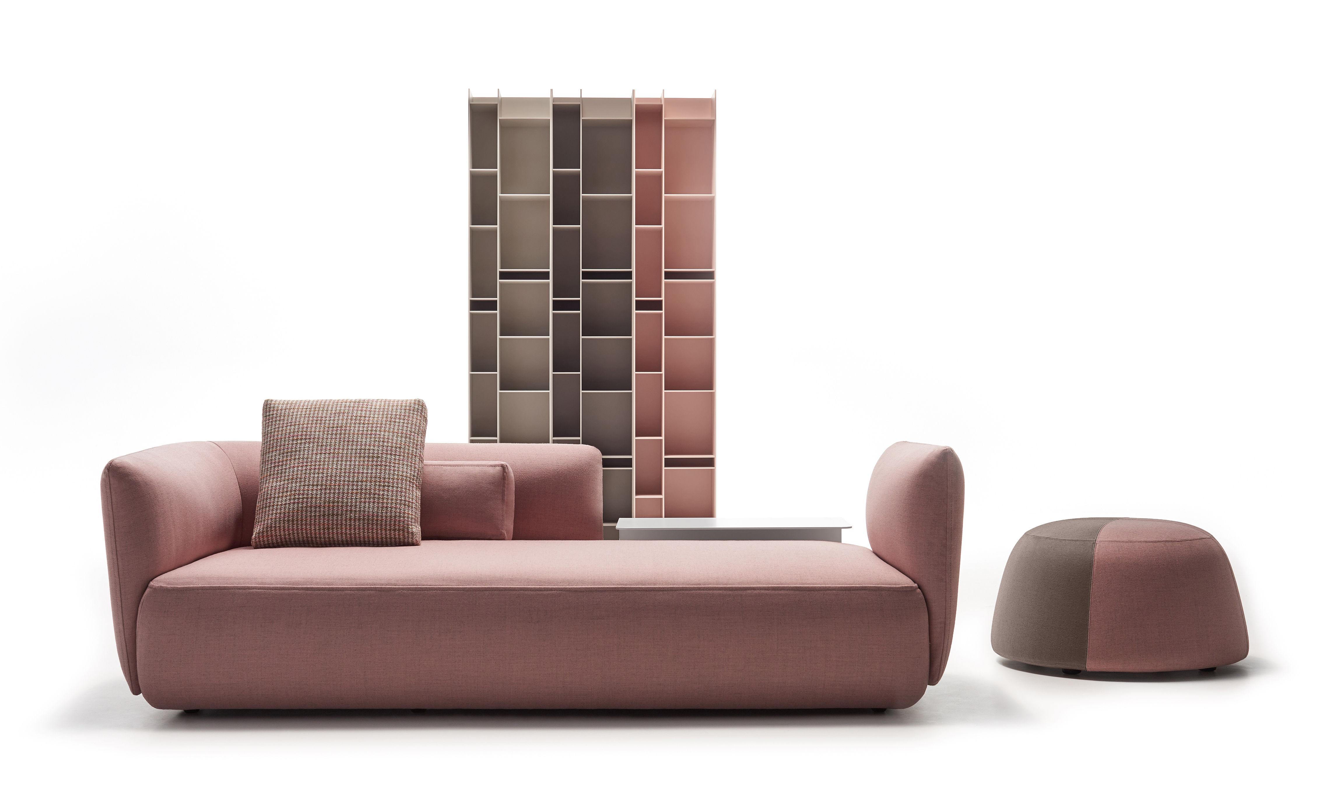 Divano Color Rosa Antico : Cosy paolina divano destro posti l cm divano rosa