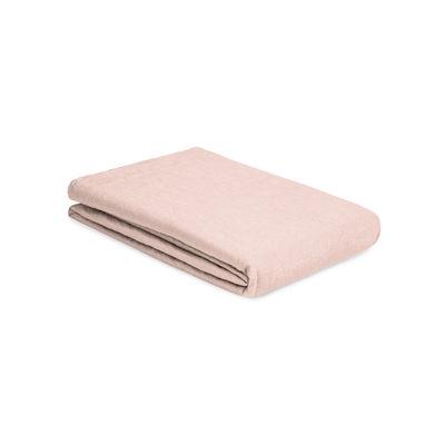 Déco - Textile - Drap plat 240 x 310 cm / Lin lavé - Au Printemps Paris - 240 x 310 cm / Rose - Lin lavé