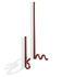 Zag Hook - / Set of 2 - Steel by La Chance