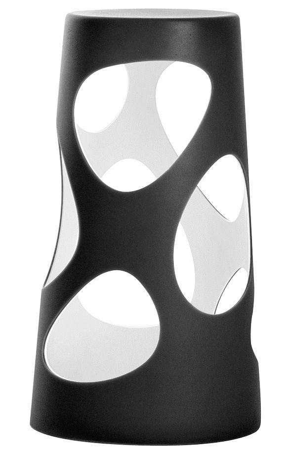 Illuminazione - Lampade da tavolo - Lampada Liberty Light - LED H 46 cm di MyYour - Esterno nero / Interno bianco - Poleasy