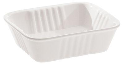 Arts de la table - Plats - Plat Estetico quotidiano 14 x 11 cm - Seletti - Blanc - Plat - Porcelaine